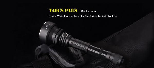 Sunwayman T40CS Plus Cree MT-G2 Neutral White LED Tactical Flashlight Torch