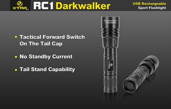 xtar rc1 darkwalker cree xp